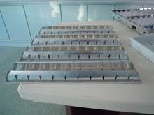 4x14w de iluminación fluorescente montaje t5 luminarias empotradas rejilla de la lámpara de iluminación empotrada parrilla