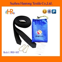 Polyester Hammock tree straps with drawstring bag