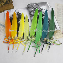 Good Quality Promotional Feather Dip Pen