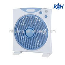 """10"""" Plastic Box Fan With Timer"""