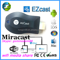New arrival miracast rockchip dongle stick wireless vga miracast
