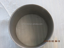 High Density 18.6g/cm3 Mo-1 99.5% Molybdenum Crucible price for melting glass