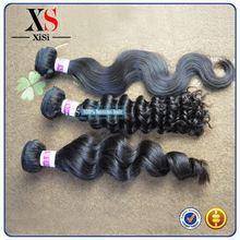 No shedding body wave brazilian human hair extension wooden hair sticks wholesale