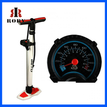 "25"" Mountain Bike Tools Cycling Steel Floor Pump With Pressure Gauge MTB Tire Air Inflator"