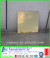 5mm 6mm 8mm 10mm 12mm golden heat reflective glass tempered solar control glass