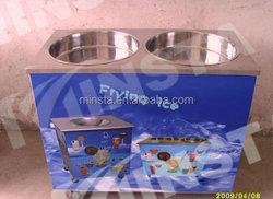 Hot Sale Single Flat Pan Fried Ice Cream Machine