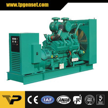 Open type diesel generator TP825C 600kw/750kva 50Hz powered by Cummins engine