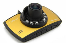 720P Car Mobile DVR with GPD6624 Motion Detection 120 Degree Wide View Angle