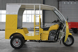 KD-T002 three wheel passenger cars electric tuk tuk