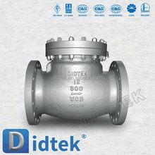 Didtek API6D casted swing check valve