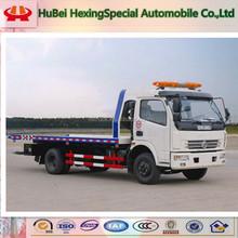 Hot sale Dongfeng DLK mini flatbed wrecker truck