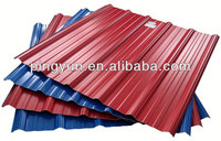 Alibaba heat resistant corrugated roofing sheets plastic for warehouse