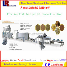 Twin Screw Extruder Floating Fish Feed Milling Machine