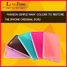 Mobile phone accessories factory in China wholesale tpu phone case for iphone 6 plus