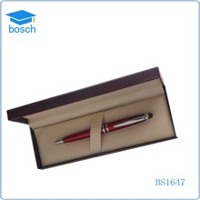 Recycled gifts touch screen pen with gift box red pen set for wedding