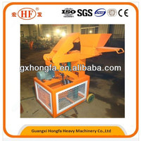 Clay or soil or concrete used as materials, HONGFA HF1-10 hydraulic block making machine without burning process