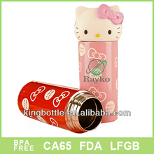 Cute design 2015 new products baby fashion vacuum thermos