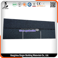China Supplier Used 3-tab Asphalt Types Of Roof Tiles For Sale