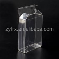 High quality transparent clear PET/PVC/PP gift plastic pen packaging box