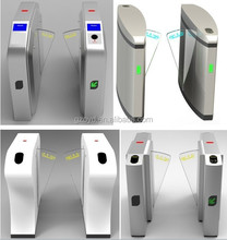Automatic Flap Barrier Gate Turnstile For Intelligent Access Control, CE, CB, FC, UL, ISO9001 approved