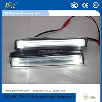 Ultra Brightness Top Quality fit for all car Light DRL for OSRAM-Style guide light-cheap one LED Daytime Running Light