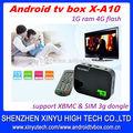 Caja de Google TV Android 4.0 hdd reproductor multimedia de grabación multimedia