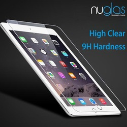 2015 Trending Hot Products Nuglas Premium 9H Clear Tempered Glass Screen Protector for iPad Mini 4