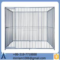 Large outdoor folding new fsahionable high quality safe convenient galvanized beautiful dog cages/kennels/pet houses