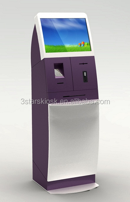 vcom check cashing machine