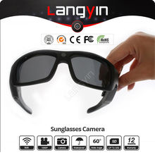 Hot sale video glasses with wireless camera