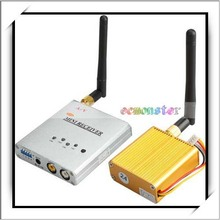 2.4GHz 3W Wireless Mini HD AV Data Transmitter And 500 MW Receiver