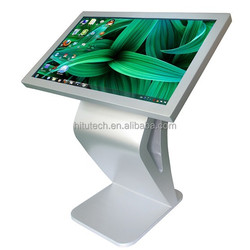 Fashionable Intergrated WIFI Touch Screen Monitor kiosk with HDMI for Mall Advertising / Vending, All-in-one Touch Monitor kiosk