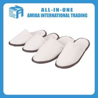 Top quality customized creative hotel disposable washable miscellaneous fleece slippers