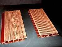 TKW 005 WPC Hollow Decking , Wall Cladding & Wall Panel , Wood Plastic Composites Hollow Decking