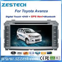 ZESTECH Wholesales OEM car audio player for toyota avanza car dvd navigation