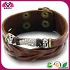 China 2014 2015 wrap braided snap rhinestone bracelet making supplies leather bracelet supplies