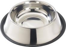Stainless steel Pets Standard No-Tip Dog Bowl/ Dog Food Bowl