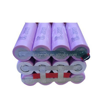 li-ion battery pack 11.1v 10.4ah with BMS protection