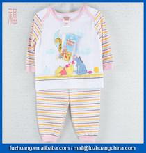 sleepwear interlock fabric baby bodysuit daywear Orange