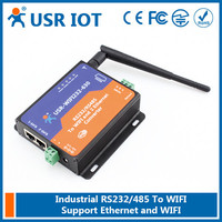 (USR-WIFI232-630) RS232 Wifi Converter,RS485 to Wifi Server High Performance Support Router/Bridge Mode Networking