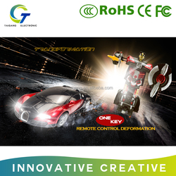 Car transformation robot toy rc car robot ransformation car for kids