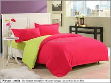 Wholesale 3/ 4pcs sanding fabric brush twill Polyester comforter bedding set