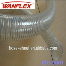2012 hot PVC reinforced steel wire suction hose