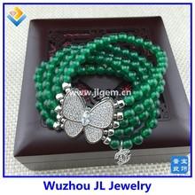 Fashion jewelry butterfly bracelet 925 silver butterfly fashion bracelet mother day gift ideas