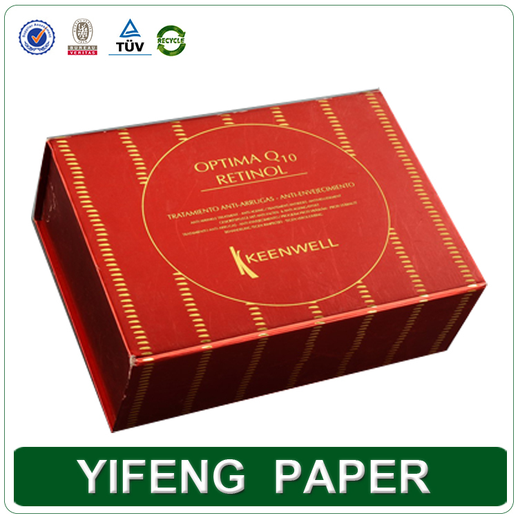 Printing color paper perfume packaging box,hot sell cheap paper cosmetic box