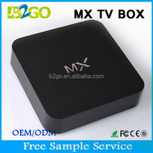 hot selling B2GO dual core AMLogic 8726 MX 1.5GHz android tv box dual tuner