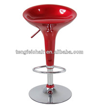ABS bar stool,with SGS Certification 330 hight gas lift 385mm chroming base,Hot sale,Popular in the market!
