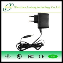 Supplier EU standard wall charger 5V 1A power adapter switching ac100-240v dc 5W power supply