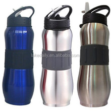 top sale 750ml sports water bottles with straw carabine bpa free