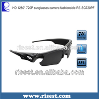 HD Waterproof Stylish Digital Sunglasses Camera Camcorder Mini Video Recorder for Outdoor Sports RE-SG100